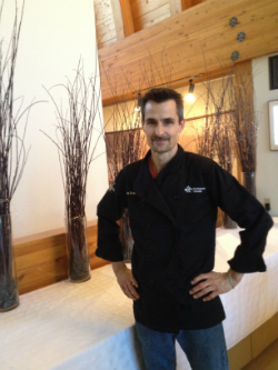 Chris Zouboules, Owner/Chef, Museum Café, Yellowknife, NWT