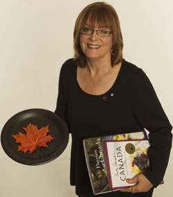 Anita Stewart, cookbook author, culinary activist, founder of Food Day Canada