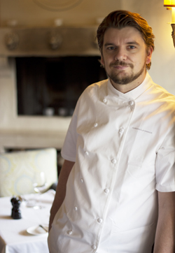 Marc St. Jacques, Executive Chef, Auberge du Pommier, Toronto, Ontario