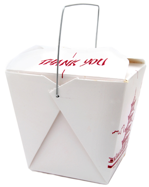 Branded takeout container