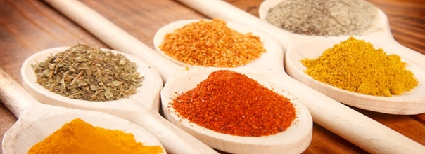 Various spices for your restaurant's salt reduction strategy
